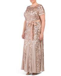 Tj Maxx - Plus Short Sleeve Gown - Lyst