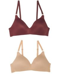 d0355653ea Tj Maxx - 2pk Elements Of Bliss Contour Wirefree Bras - Lyst