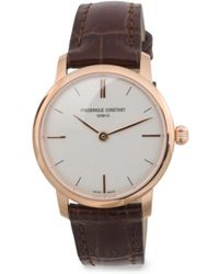Tj Maxx - Women's Swiss Made Leather Strap Watch - Lyst