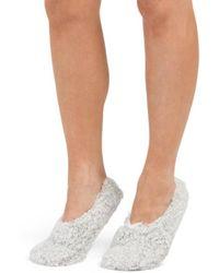 Tj Maxx - Crocheted Slipper Socks - Lyst