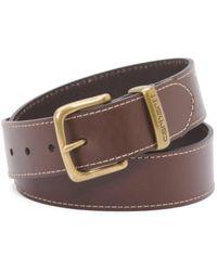 Tj Maxx - Men's Leather Belt With Metal Loop - Lyst