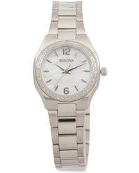 Tj Maxx - Women's Diamond Bracelet Watch - Lyst