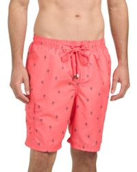 Tj Maxx - Ditsy Printed Swim Shorts - Lyst