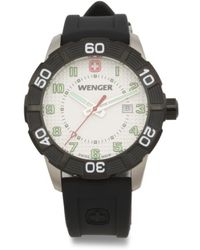 Tj Maxx - Men's Swiss Made Roadster Silicone Strap Watch - Lyst