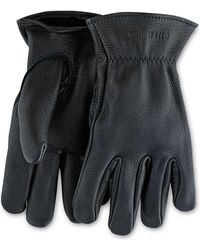 Red Wing - Red Wing Buckskin Unlined Leather Glove In Black - Lyst