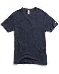 Todd Snyder - Champion Classic T-shirt In Navy - Lyst