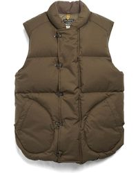 Todd Snyder - Military Down Vest In Olive - Lyst