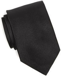 Drake's   Silk Solid Tie In Black   Lyst