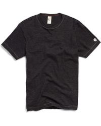 Todd Snyder - Champion Classic T-shirt In Black Mix - Lyst