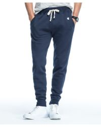 Todd Snyder - Slim Jogger Sweatpant In Navy - Lyst