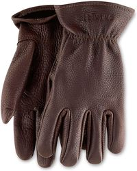 Red Wing - Red Wing Buckskin Unlined Leather Glove In Brown - Lyst