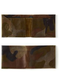 Maxx + Unicorn - Leather Wallet In Camo - Lyst