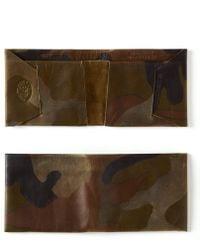 Maxx + Unicorn - Leather Wallet In Camo - Lyst