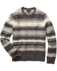 Todd Snyder - Donegal Striped Crewneck Jumper - Lyst