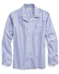 Sleepy Jones - Henry Pyjama Shirt In Bengal Stripe - Lyst