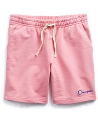 Todd Snyder - The Retro Bright Warm Up Short In Pink - Lyst