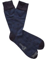 Corgi - Ribbed Cotton-blend Socks - Lyst