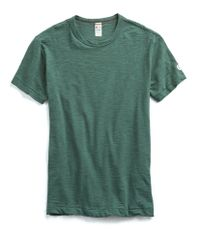 Todd Snyder - Champion Classic T-shirt In Green - Lyst