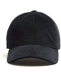 Lock & Co. - Lock And Co Corduroy Rimini Corduroy Dad Hat In Grey - Lyst