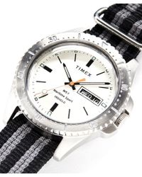 Timex - Maritime Sport Ms1 Watch In Silver - Lyst