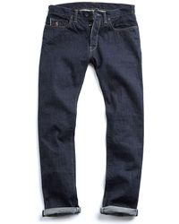 Todd Snyder - Made In L.a Selvedge Indigo Rinse Jean - Lyst