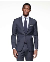 9956267b54e Todd Snyder - Sutton Suit Jacket In Italian Navy Glen Plaid Tropical Wool -  Lyst