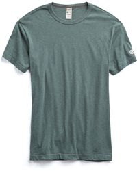 Todd Snyder - Champion Classic T-shirt In Rugged Green - Lyst
