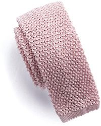 Todd Snyder - Classic Silk Knit Tie In Pink - Lyst