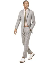 Todd Synder X Champion - Prince Of Wales Tropical Wool Sutton Suit Jacket In Grey - Lyst