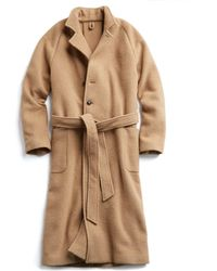 Todd Snyder - Exclusive Todd Snyder + Private White Wrap Topcoat In Camel - Lyst