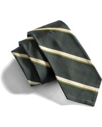 Todd Snyder - Black Stripe Pointed Tie - Lyst