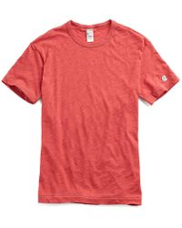 Todd Snyder - Champion Classic T-shirt In Faded Red - Lyst