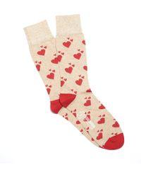 Corgi - Hearts Socks In Tan - Lyst
