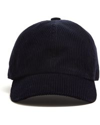 Lock & Co. - Lock And Co Corduroy Rimini Dad Hat In Navy - Lyst