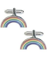 Jan Leslie - Rainbow Cufflinks - Lyst
