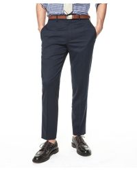 Todd Snyder | Sutton Suit Pant In Italian Natural Stretch Navy Wool | Lyst