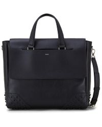 Tod's - Envelope Bag In Leather Medium - Lyst