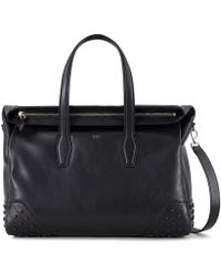 Tod's - Travel Bag Medium In Leather - Lyst