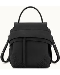 Tod's - Mini Wave Backpack In Leather - Lyst