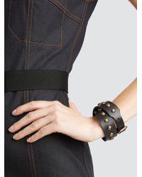 Tomas Maier - Wide Stud Wrap Bracelet - Lyst