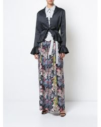 TOME - Satin Chinoise Jacket - Lyst