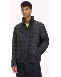 Tommy Hilfiger - Filled Recycled Fabric Puffer Jacket - Lyst