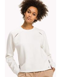 Tommy Hilfiger - Shoulder Slit Sweatshirt - Lyst