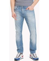 785c3cdd Tommy Hilfiger Tapered Fit Jeans in Blue for Men - Lyst