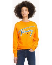 Tommy Hilfiger - Signature Crew Neck Sweatshirt - Lyst
