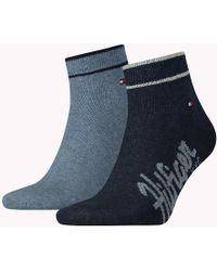 Tommy Hilfiger - 2 Pack Sneaker Socks - Lyst