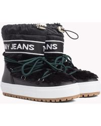 Tommy Hilfiger - Repeat Logo Snow Boots - Lyst