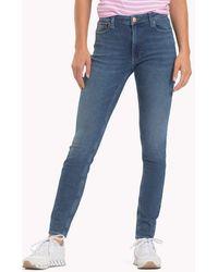 54ecce22a Tommy Hilfiger - Santana Ankle-grazer Skinny Jeans - Lyst