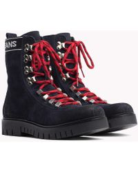 Tommy Hilfiger - Tommy Jeans Lace-up Hiking Boots - Lyst