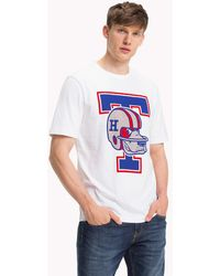 275a82a389caa Tommy Hilfiger Tommy Jeans Logo T-shirt in White for Men - Lyst